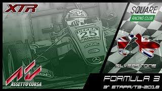 Square Racing Club Formula 3 @ Silverstone - 3ª Etapa T3/2018
