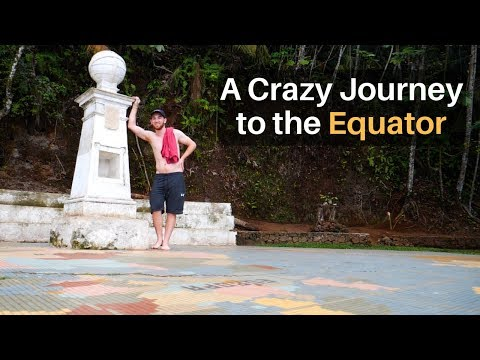 A Crazy Journey to the EQUATOR (in São Tomé)