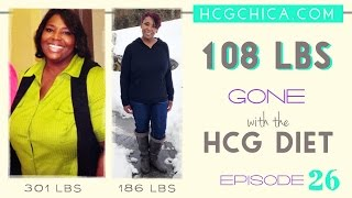 hCG injections success story - 115lb weight loss results - Episode 26: hCG Diet Interviews
