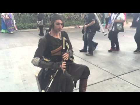 Fairy Tail Theme/Shukumei Irish Uilleann Bagpipe Cover