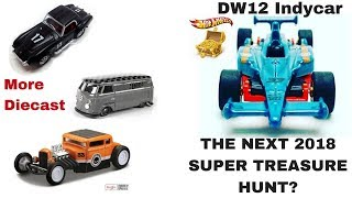 NEW 2018 HOT WHEELS INDY CAR SUPER TREASURE HUNT And More Diecast Release