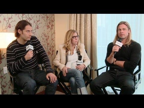 Brad Pitt and Jeremy Klein Talk 12 Years A Slave - TIFF 2013