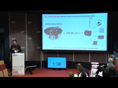Andreas Zeiselmair - Breaking the Wall of Low-Cost Off-Grid Energy Supply @Falling Walls Lab 2014