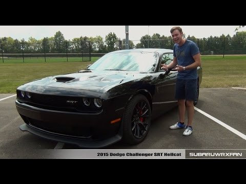 Review: 2015 Dodge Challenger Hellcat