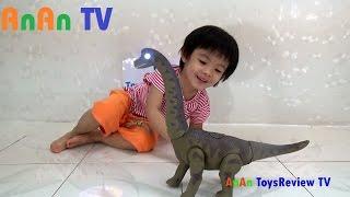 Đồ chơi khủng long đẻ trứng - Dinosaur lays eggs ❤ Anan ToysReview TV ❤
