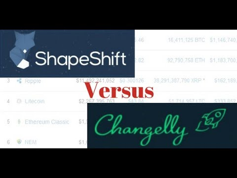 SHAPESHIFT VS CHANGELLY | ONLINE CRYPTOCURRENCY EXCHANGES | REVIEWS AND OPINIONS