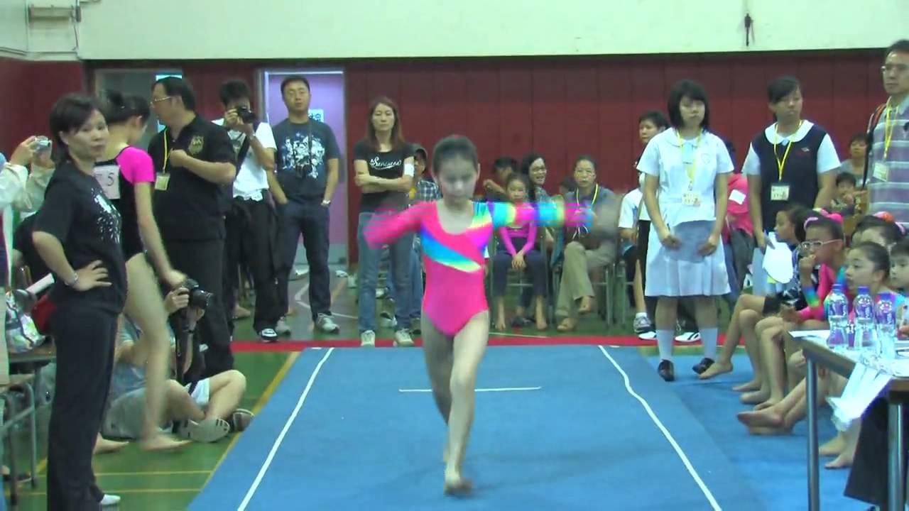 全港小學體操邀請賽 女子自由體操 46