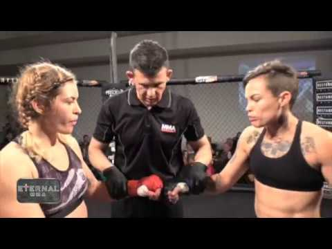 ETERNAL MMA 12 - JESS MCCARTHY VS MAXINE SMITH - WMMA FIGHT VIDEO