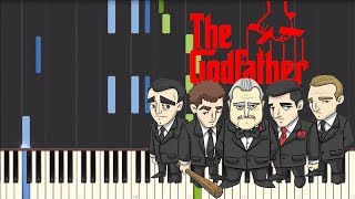 Love Theme from the Godfather [Piano Tutorial] (Synthesia)