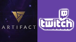 What is the Artifact section on Twitch?