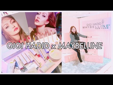 GIGI HADID X MAYBELLINE PH: Swatches & Unboxing Haul    (PHILIPPINES Event Launch)