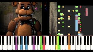 FNAF Song - He's a Scary Bear (IMPOSSIBLE REMIX)