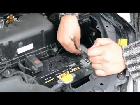Установка аккумулятора на Lexus RX350 3.5i Topcar Asia 75Ah JR