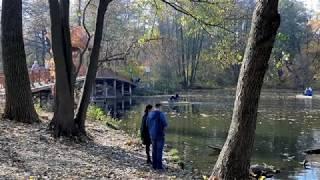 2019.10.19 Пуща-Водица, парк и озеро Горащиха