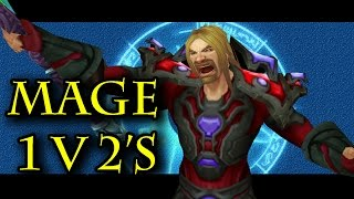 Legion - Frost Mage 1v2 Arena #2