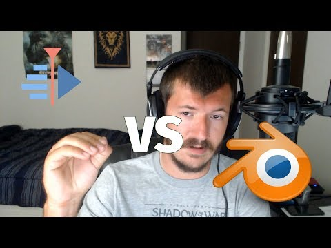 Kdenlive vs Blender | Linux Video Editors