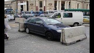 Menschen, die Rache an Falschparkern genommen haben