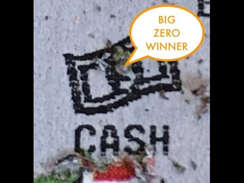Are Those BIG ZEROS? $20 Million In An Instant - Redskinsfan4ever- PA Lottery - Scratcher