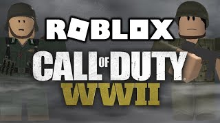 Call Of Duty WW2 ON ROBLOX!
