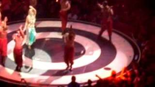 Britney Spears- Me Against The Music (Bollywood Remix).. TD Garden 8/29/09
