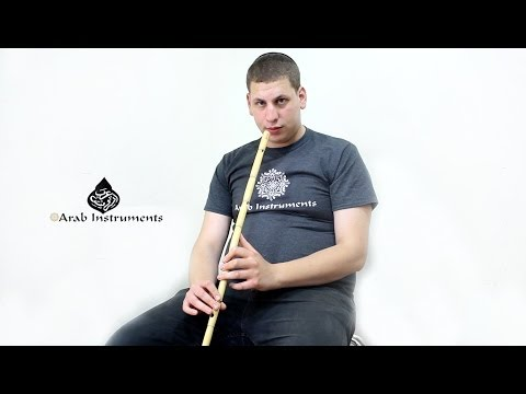 Professional Egyptian Ney - Arab Instruments