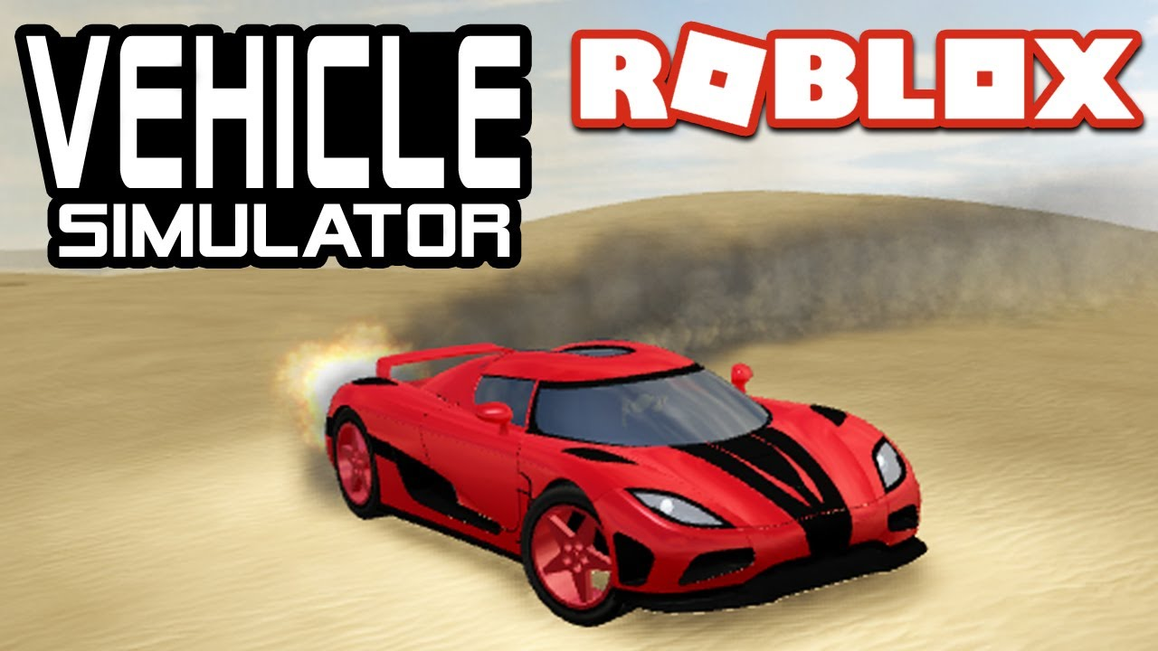 Fastest Acceleration In Vehicle Simulator Roblox Agera R Youtube