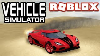FASTEST ACCELERATION in Vehicle Simulator! | Roblox Agera R
