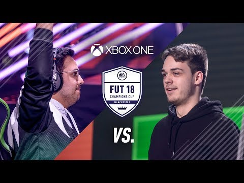 FIFA 18 FUT Champions Xbox Final Falcon Msdosary vs NRaseck Highlights
