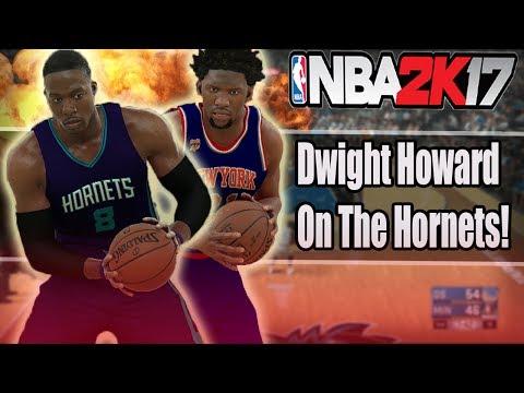 DWIGHT HOWARD ON THE CHARLOTTE HORNETS! - NBA 2K17 MYLEAGUE   NBA 2K17 SIMULATION