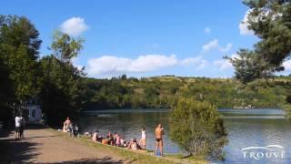 Omgeving van camping Trouve in de Auvergne, Frankrijk (camping powned)