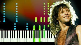 Its My Life - Bon Jovi Piano Tutorial