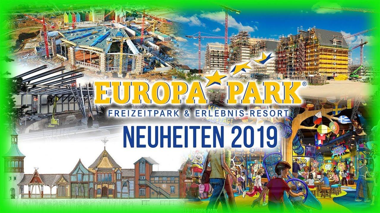 Neuheiten Europapark