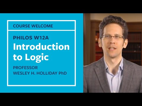 Philosophy 12A - Introduction to Logic
