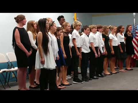 Dave Eschenbrenner's Zombie Pandas and Esperanza Middle School choir