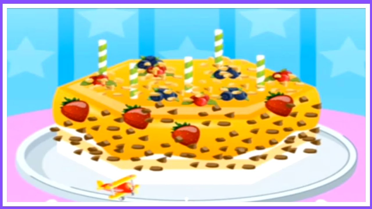 Your Birthday Bake This Cake Maker Cooking Game App Youtube