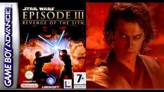 STAR WARS EPISODE III - Revenge of The SIth (GBA) Playthrough for ANAKIN (Прохождение за Энакина)
