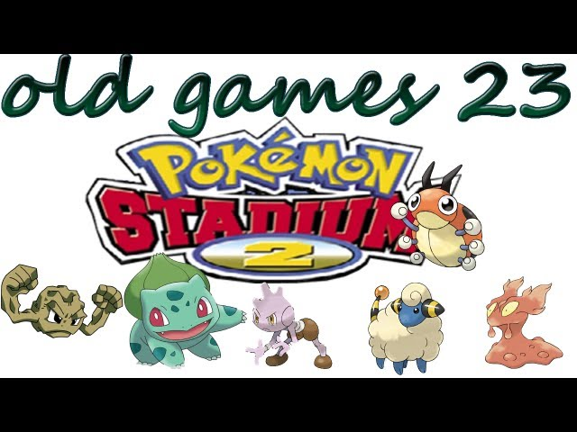 old games 23 pokemon stadium 2 Videos De Viajes