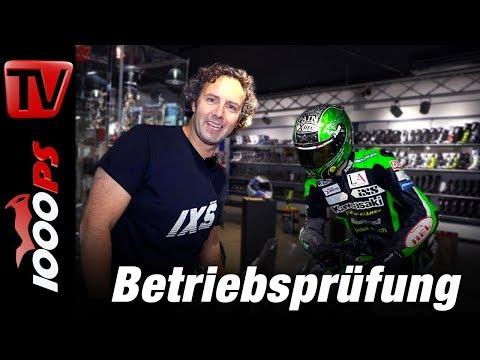 Betriebsprüfung iXS Motorcycle Fashion und Neuheiten 2018