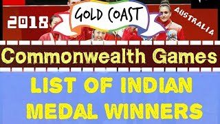 COMMONWEALTH GAMES 2018 ● LIST OF INDIAN MEDAL WINNERS : THE ACUTE LEARNING TEAM