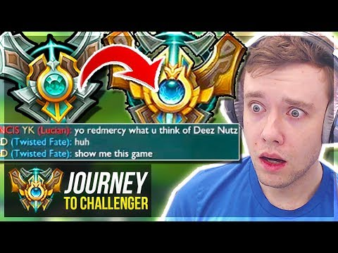 WAIT..I MIGHT ACTUALLY GET CHALLENGER??????? - Journey To Challenger | League of Legends