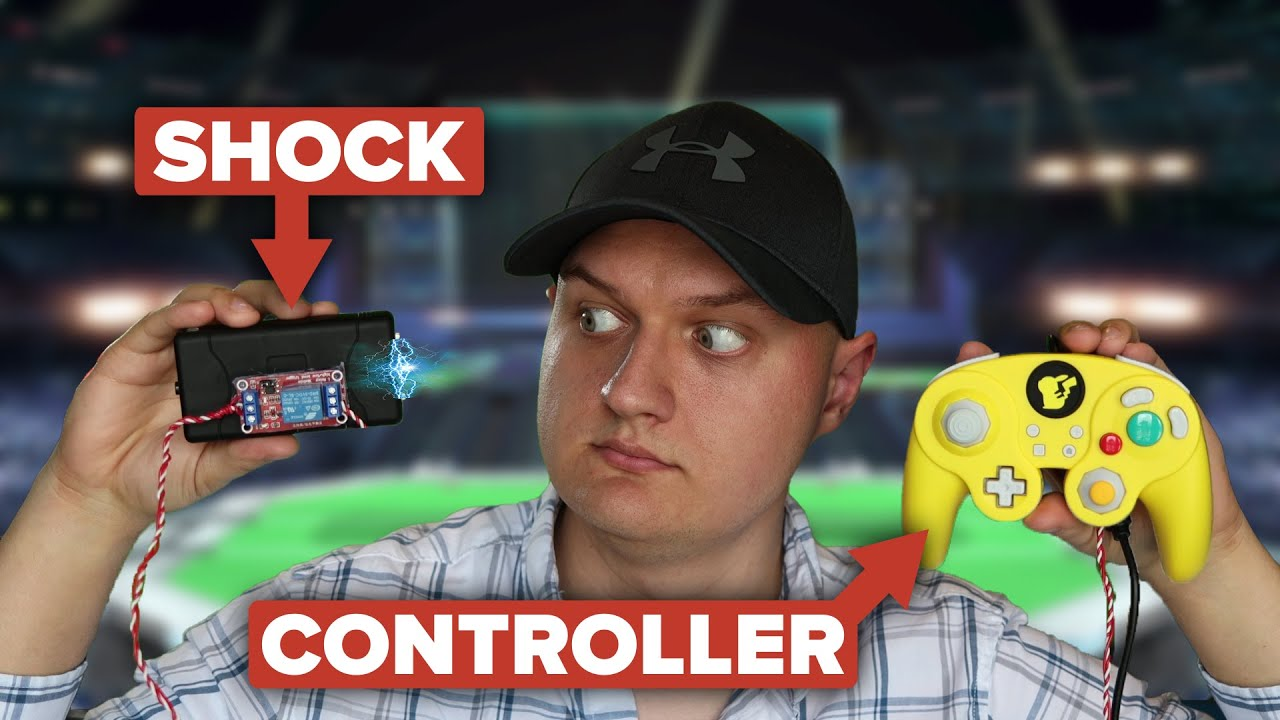 This Controller Shocks You as Pichu - [Super Smash Bros. Ultimate]