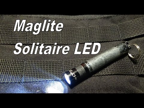 recenzja maglite solitaire led youtube. Black Bedroom Furniture Sets. Home Design Ideas