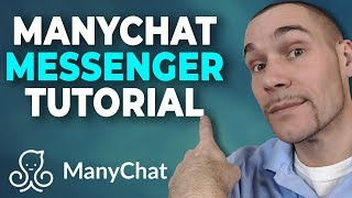 ManyChat Facebook Messenger Tutorial 2019 (Building a ManyChat Flow)