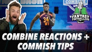 Fantasy Football 2019 - Combine Reactions + 5 Ways to Make Your League Better - Ep. #697