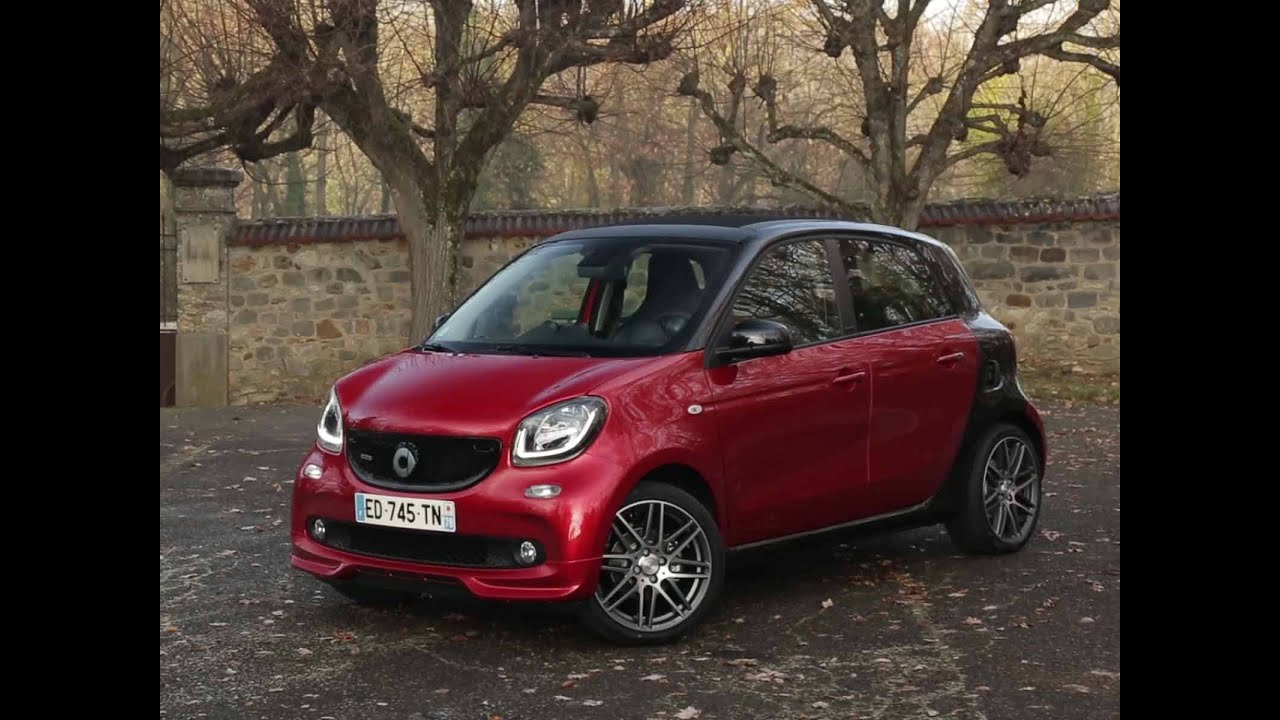 essai smart forfour brabus xclusive 2017 youtube. Black Bedroom Furniture Sets. Home Design Ideas