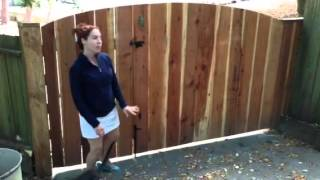 Woodfenceexpert.com Diy Phone Consultation Testimonial, Wood Driveway Gate