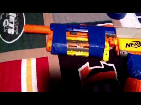Nerf Grenade launcher attachment - YouTube
