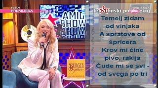 Ami G Show S09 Tekstonski Poremecaj Milica Todorovic Tri Case