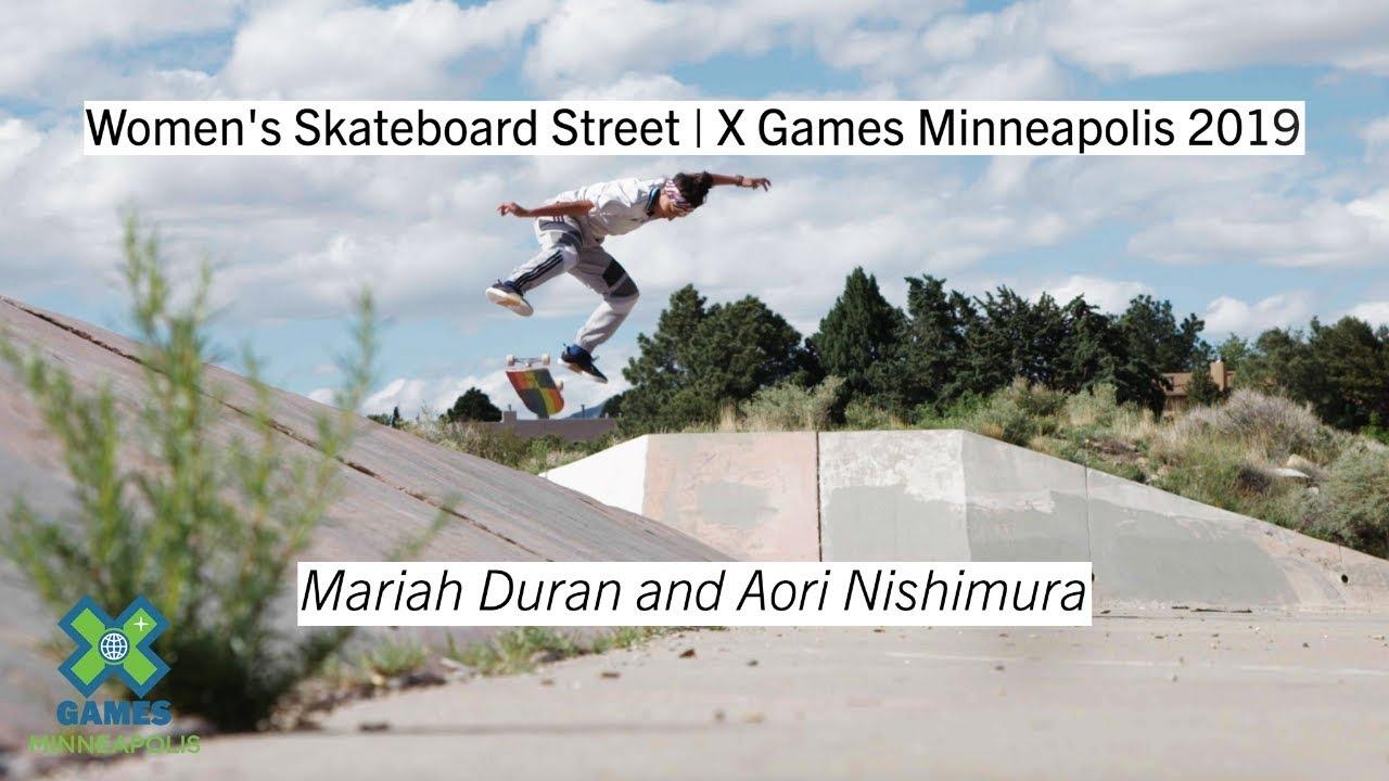 Women's Skateboard Street Athlete Profiles   X Games Minneapolis 2019 -  YouTube