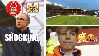 NOT GOOD ENOUGH *VLOG* NOTTINGHAM FOREST V BRISTOL CITY